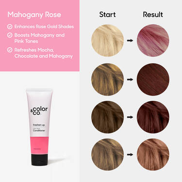 Color Gloss Conditioner Mahogany Rose