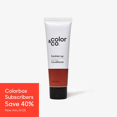 Color Gloss Conditioner Warm Red Copper